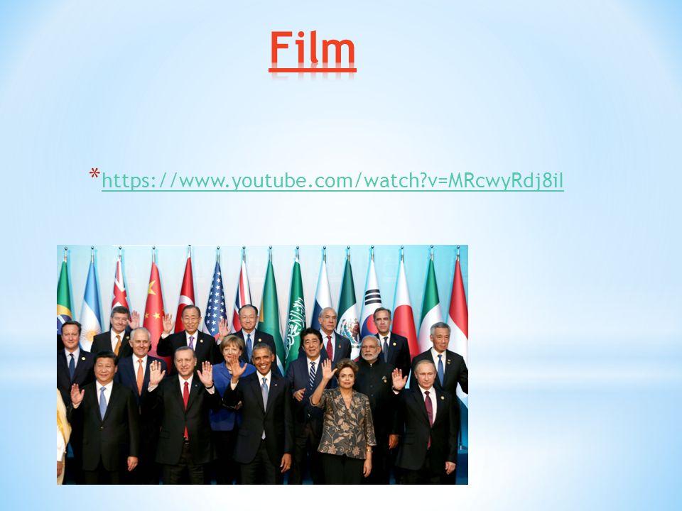 G7- bzw. G20 Staaten = Gruppe der führenden Industrienationen bzw. die Staats- und Regierungschefs der einzelnen Nationen Bis 1998 führenden westlich
