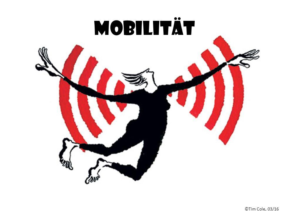 ©Tim Cole, 03/16 Mobilität