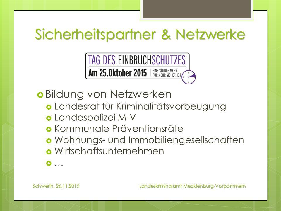 Staatliche Förderung & Planung  KfW-Förderung Schwerin, 26.11.2015 Landeskriminalamt Mecklenburg-Vorpommern  § 4 Baugesetzbuch (Bauleitplanung bis Städtebauförderung)