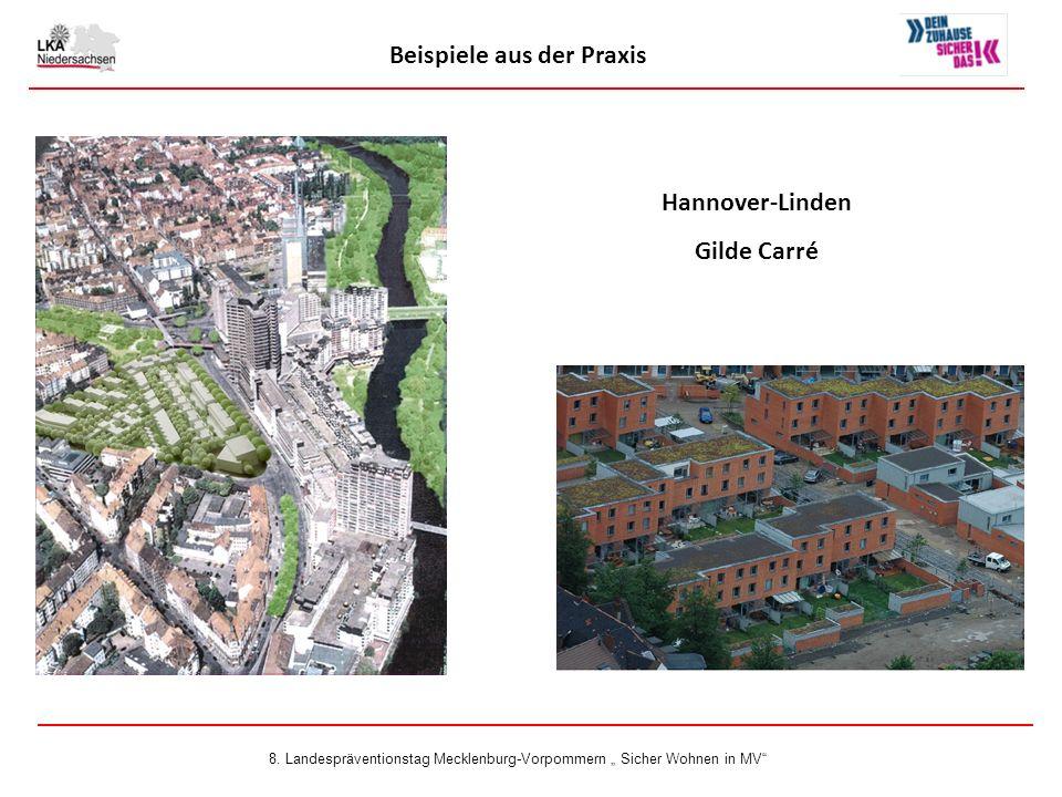 Hannover-Linden Gilde Carré Beispiele aus der Praxis 8.