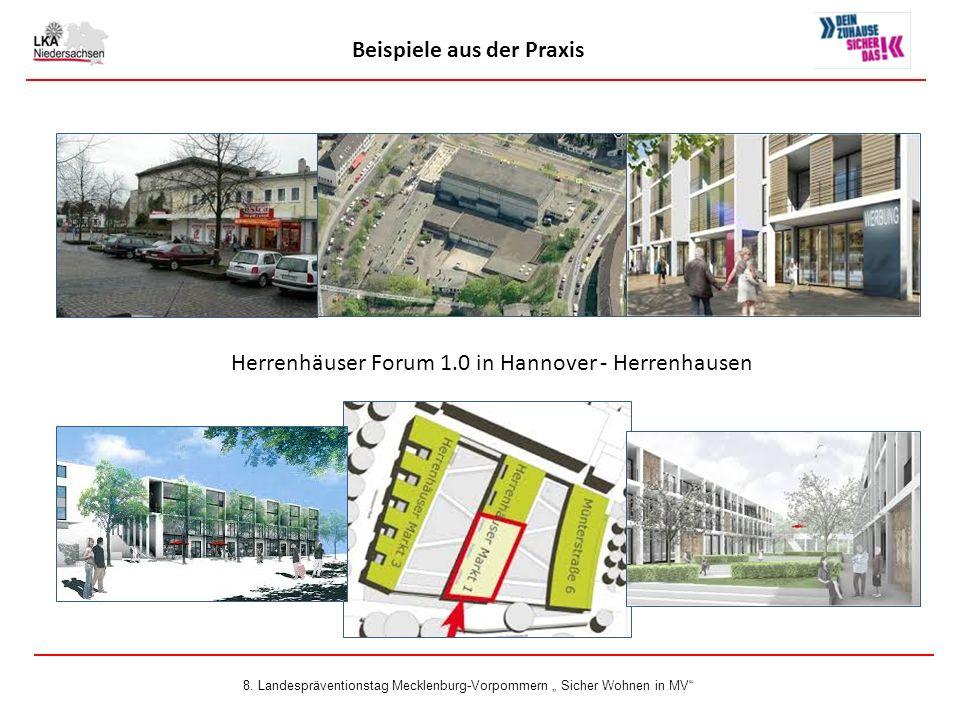 Beispiele aus der Praxis Herrenhäuser Forum 1.0 in Hannover - Herrenhausen 8.