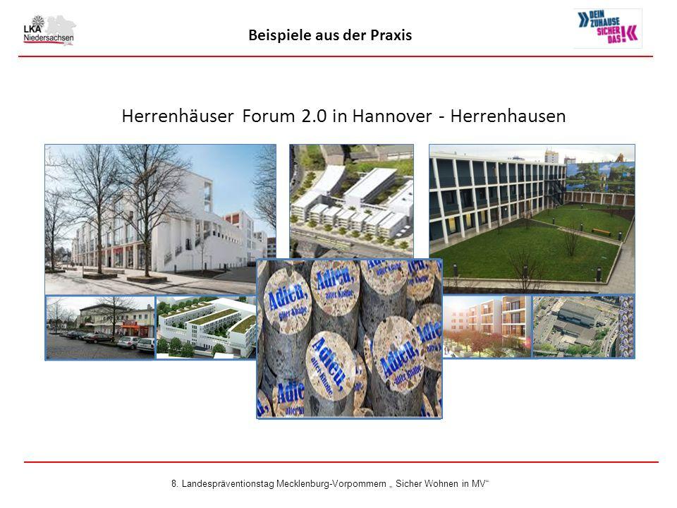 Beispiele aus der Praxis Herrenhäuser Forum 2.0 in Hannover - Herrenhausen 8.