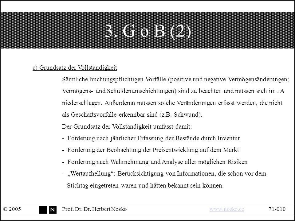 3. G o B (2) © 2005Prof. Dr. Dr.