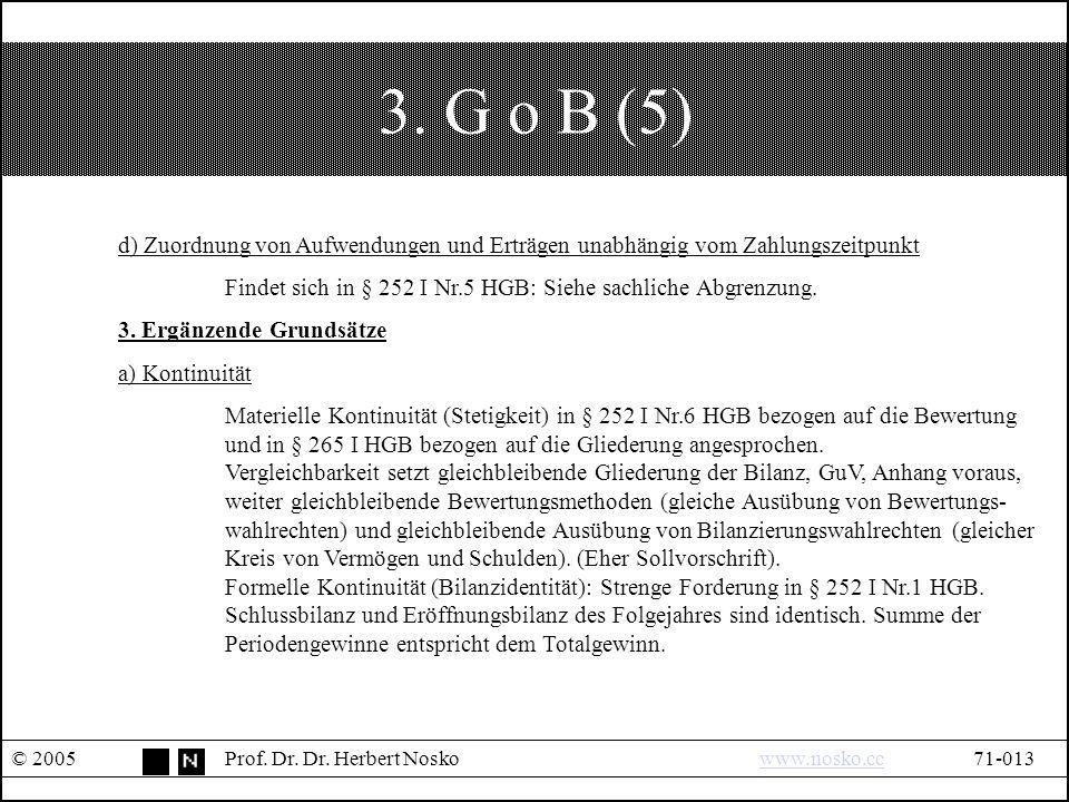 3. G o B (5) © 2005Prof. Dr. Dr.