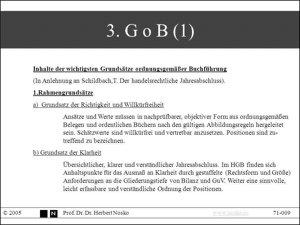 3. G o B (1) © 2005Prof. Dr. Dr.