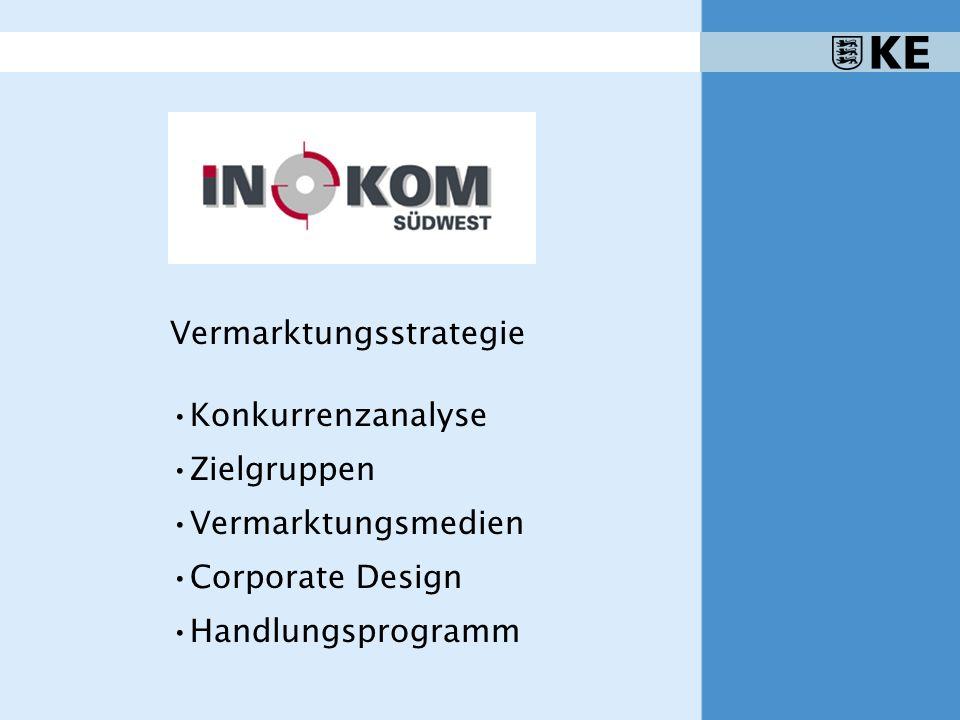 Vermarktungsstrategie Konkurrenzanalyse Zielgruppen Vermarktungsmedien Corporate Design Handlungsprogramm
