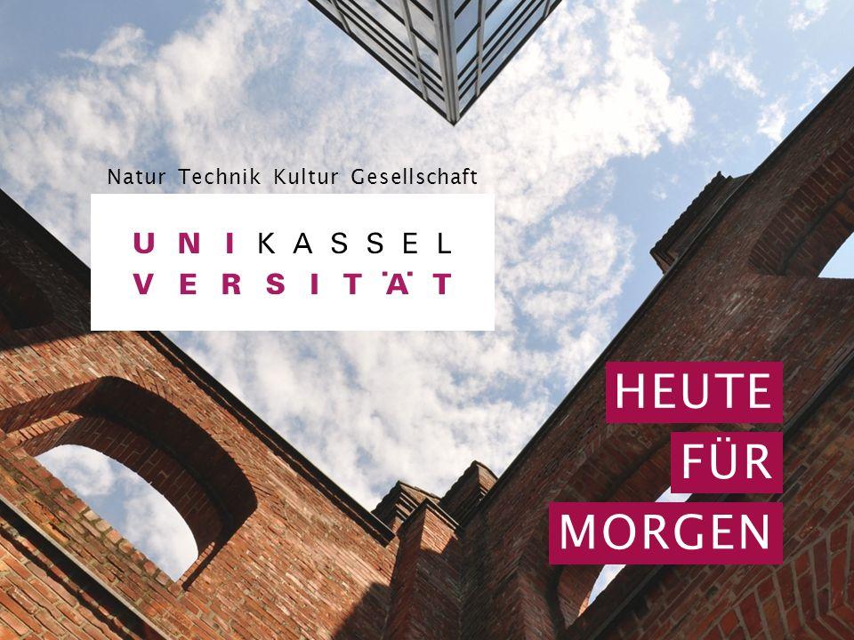 2015/2016 | 1 HEUTE FÜR MORGEN Natur Technik Kultur Gesellschaft