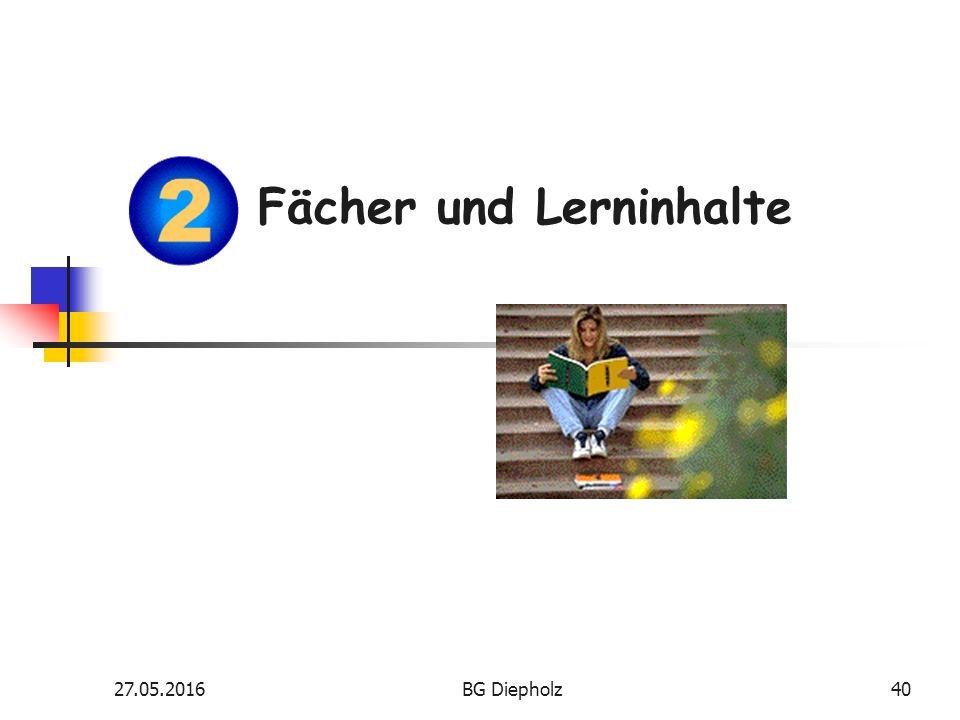 27.05.2016BG Diepholz39 Was bedeutet Ökotrophologie .