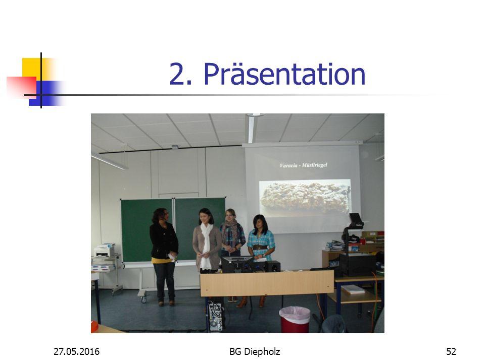 Projekt Müsliriegel Kl. 11 1. Herstellung 27.05.2016BG Diepholz51