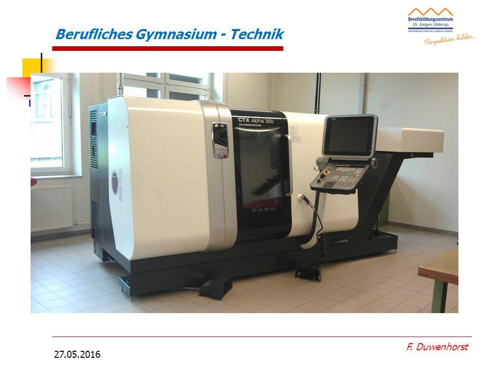 27.05.2016 F. Duwenhorst Druckluftmotor- Anordnungsplan