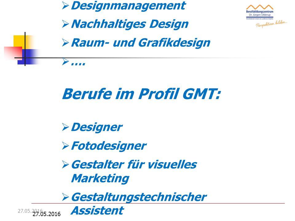 27.05.2016 Berufliches Gymnasium - Technik F. Duwenhorst