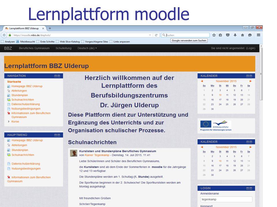 27.05.2016 Berufliches Gymnasium - Technik F. Duwenhorst Beispiel: HS Osnabrück
