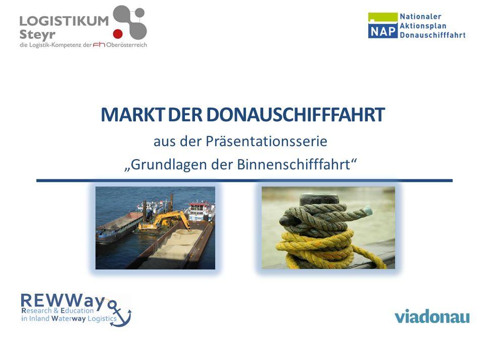 """MARKT DER DONAUSCHIFFFAHRT aus der Präsentationsserie """"Grundlagen der Binnenschifffahrt"""