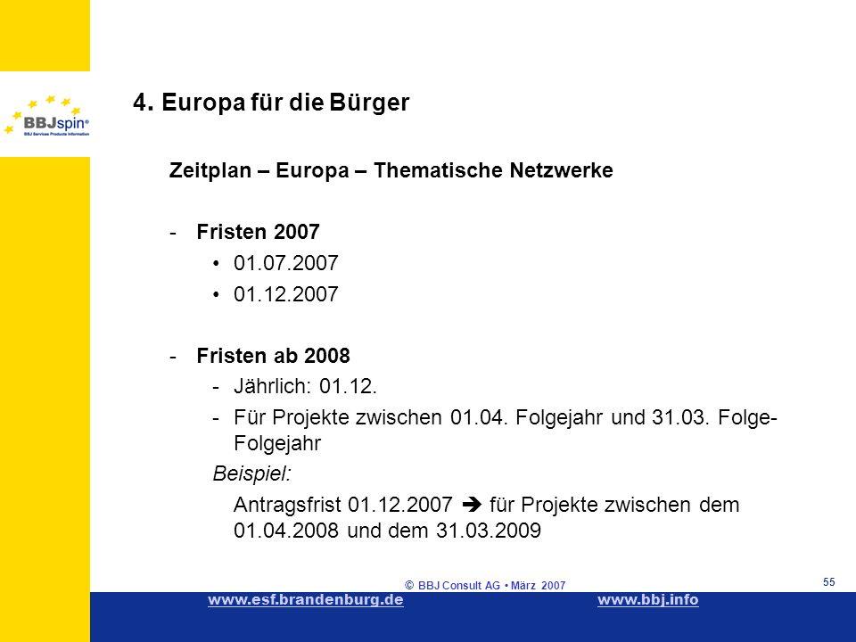 www.esf.brandenburg.dewww.esf.brandenburg.de www.bbj.infowww.bbj.info © BBJ Consult AG März 2007 55 4.