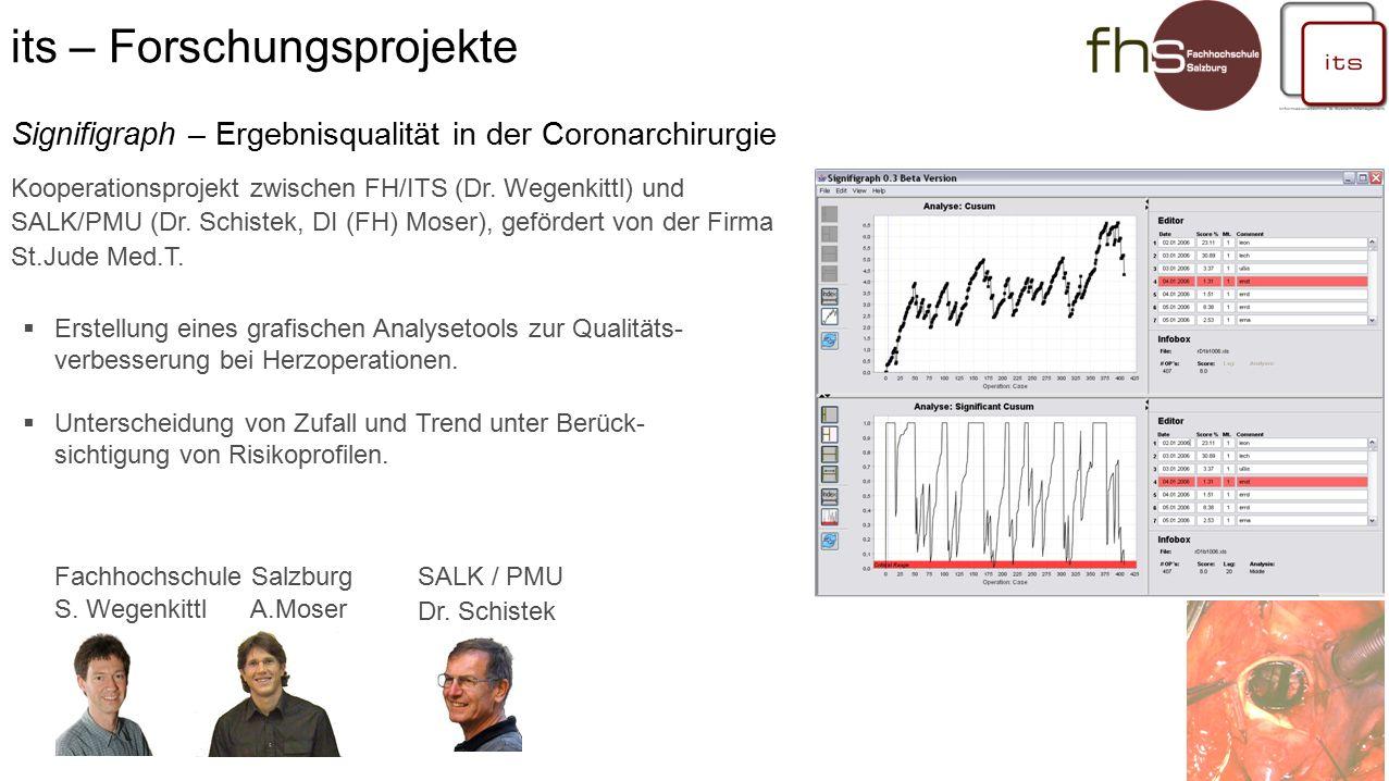 Fachhochschule Salzburg S. Wegenkittl A.Moser SALK / PMU Dr.