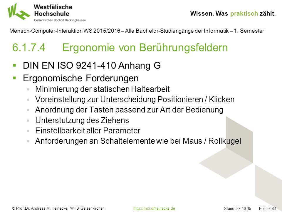 © Prof.Dr.Andreas M. Heinecke, WHS Gelsenkirchen.