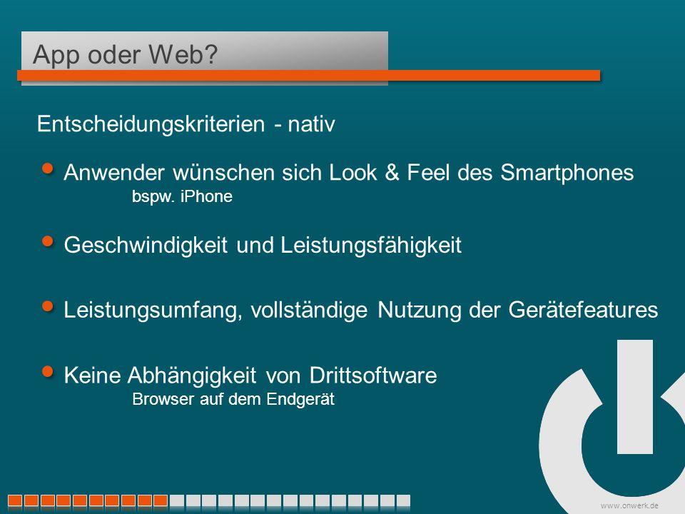www.onwerk.de App oder Web.
