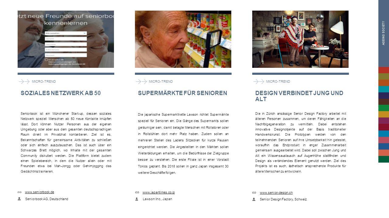 MICRO-TREND Seniorbook ist ein Münchener Start-up, dessen soziales Netzwerk speziell Menschen ab 50 neue Kontakte knüpfen lässt.