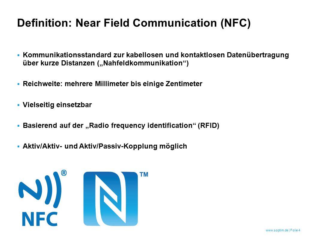 """www.soptim.de   Folie 5 Was ist """"Radio frequency identification (RFID)."""