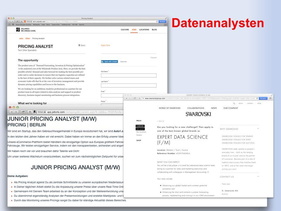 Datenanalysten