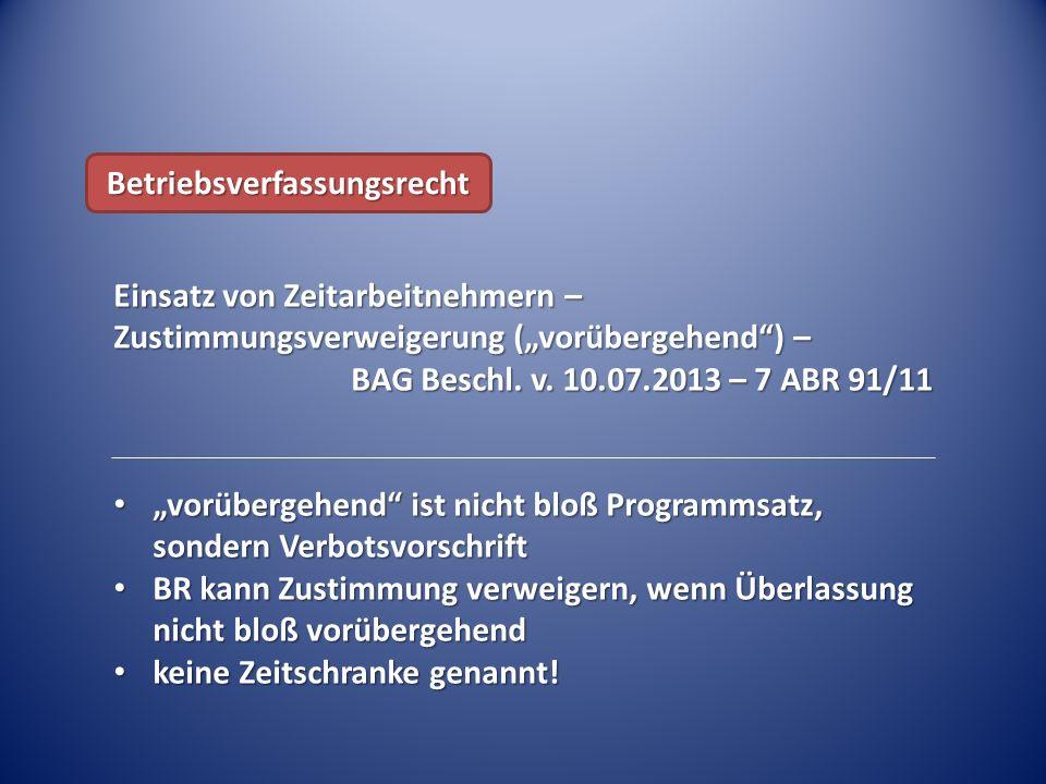 Abgeltung trotz Verfallfrist – BAG Urt.v.