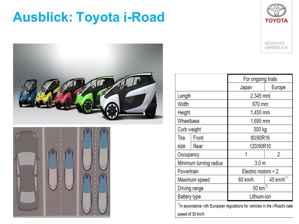 Ausblick: Toyota i-Road