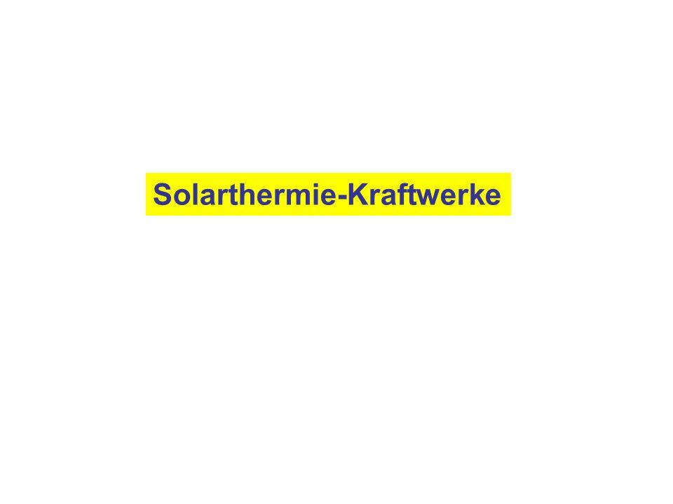 Solarthermie-Kraftwerke
