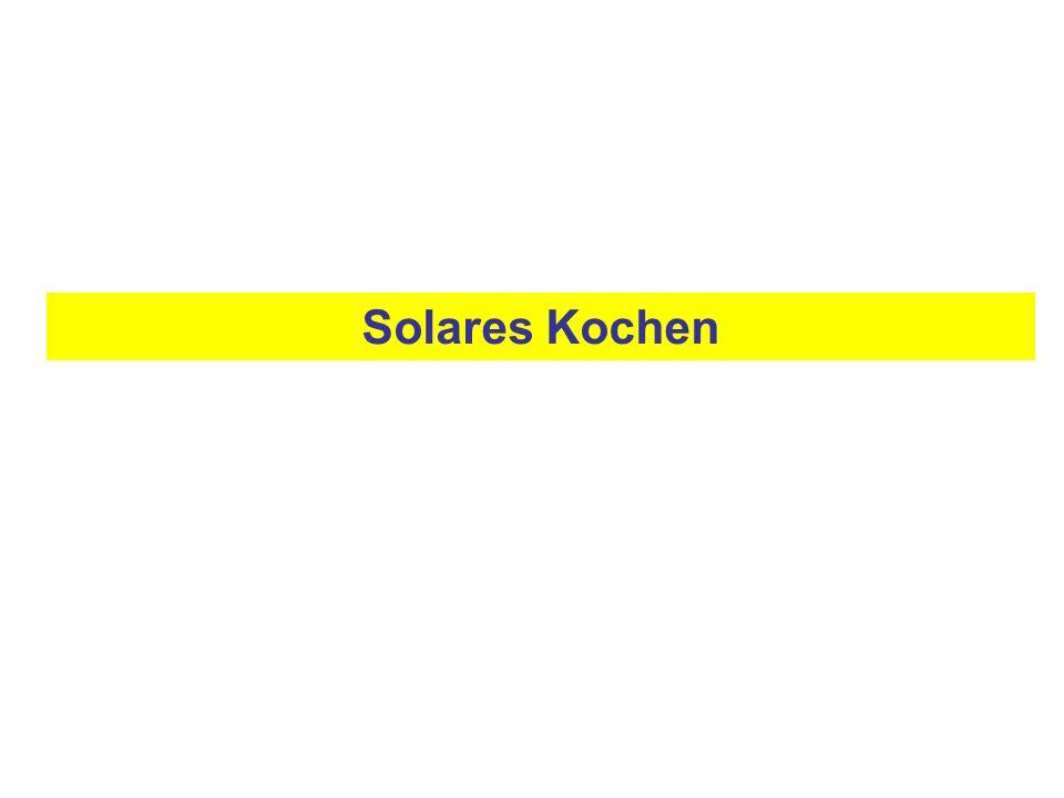 Solares Kochen