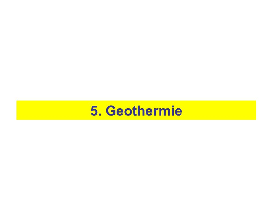 5. Geothermie