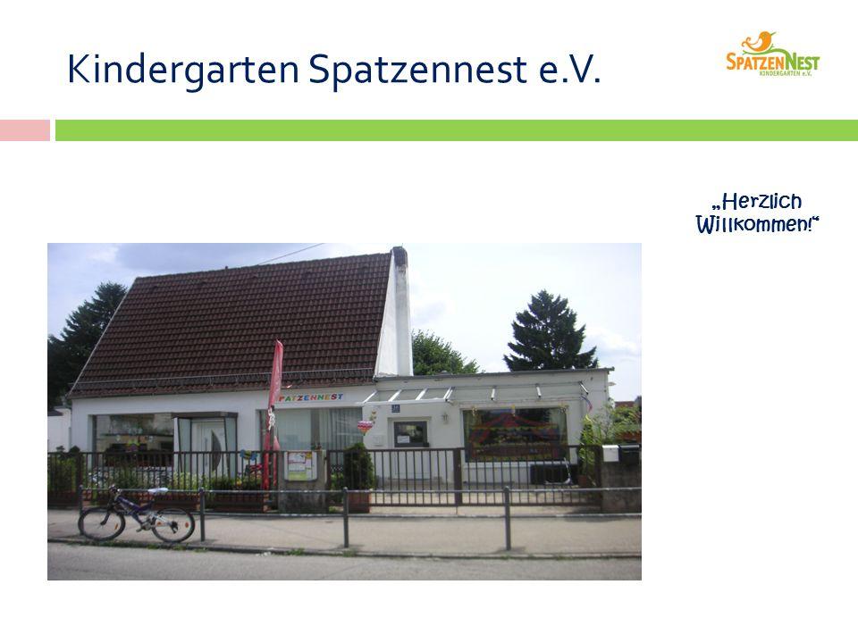 """Kindergarten Spatzennest e.V. """"Herzlich Willkommen!"""