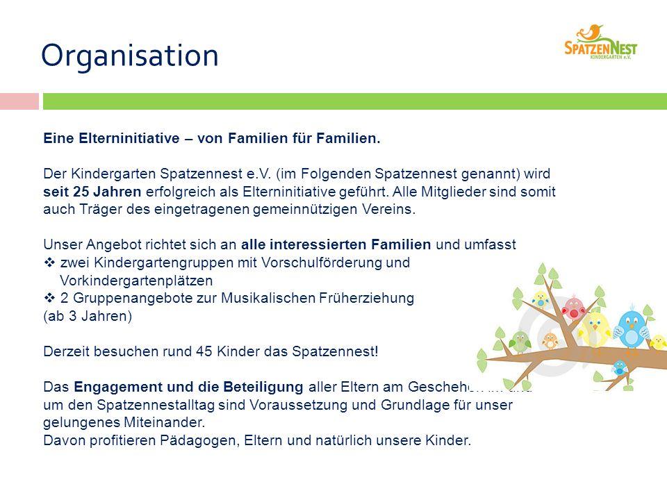 Eine Elterninitiative – von Familien für Familien.