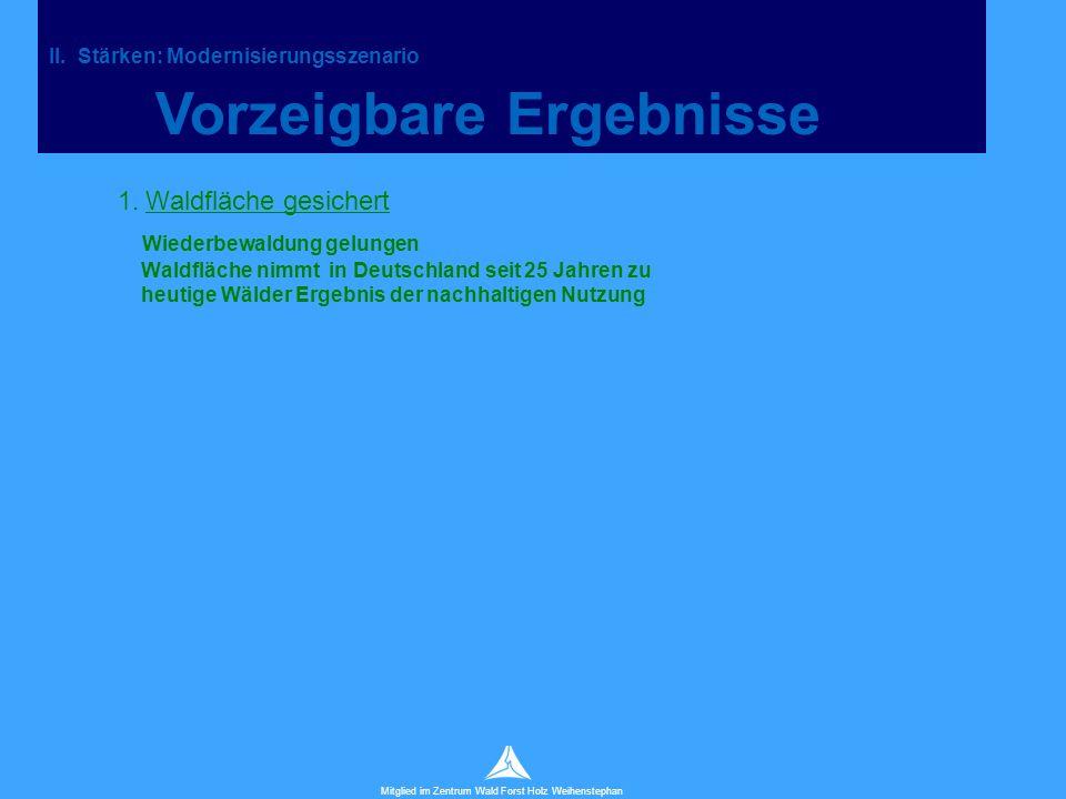 Technische Universität München Mitglied im Zentrum Wald Forst Holz Weihenstephan 1.
