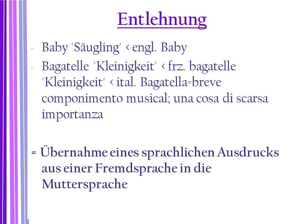 Movierung durch Derivation  Die meisten femininen Bezeichnungen werden von Maskulina durch Suffigierung gebildet.