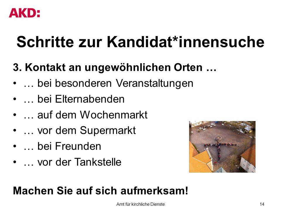 Schritte zur Kandidat*innensuche 3.
