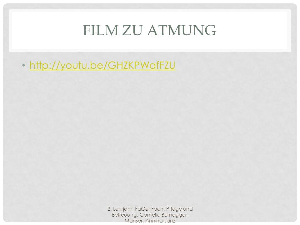 FILM ZU ATMUNG http://youtu.be/GHZKPWafFZU 2.