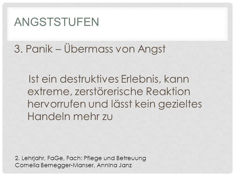 ANGSTSTUFEN 3.