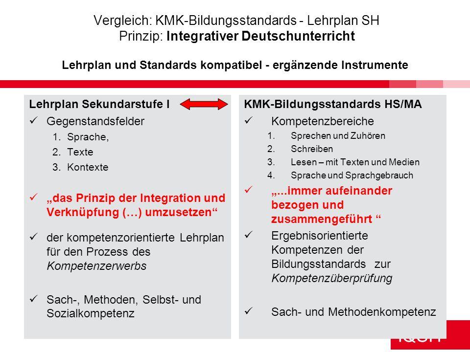 IQSH Kumulativer Aufbau - Kompetenzentwicklungslinien Klassenstufen 5/6 7/8 9/10 Aktuelle klassische Werke der Kinder- und Jugendliteratur und altersa