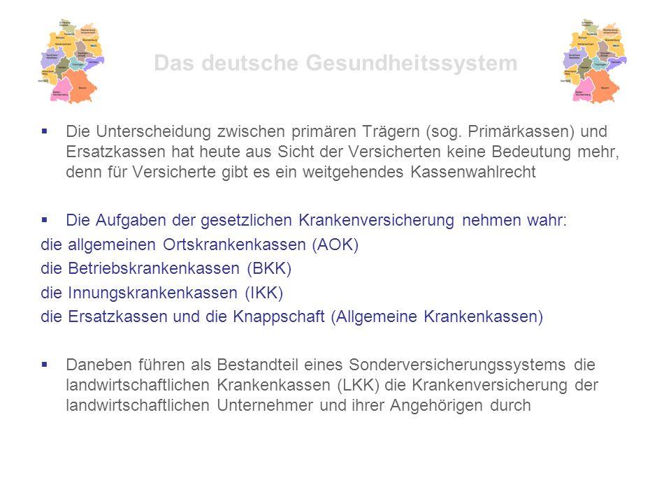  Die Unterscheidung zwischen primären Trägern (sog.