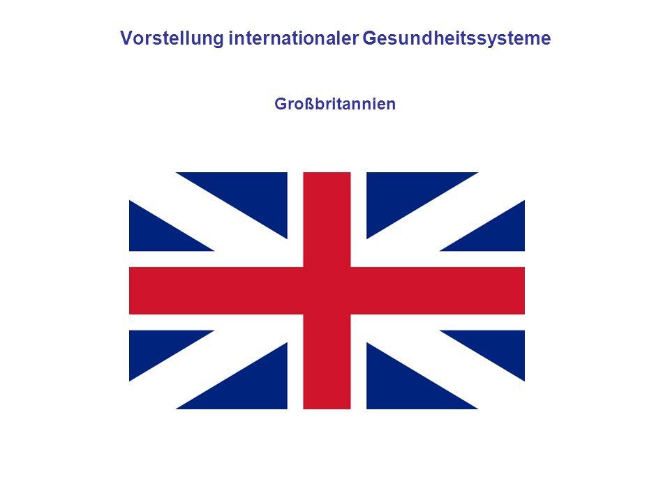 Vorstellung internationaler Gesundheitssysteme Großbritannien