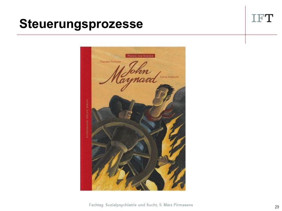 Steuerungsprozesse 29 Fachtag Sozialpsychiatrie und Sucht, 9. März Pirmasens