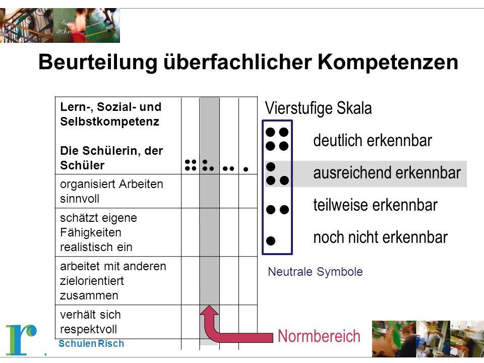 Schulen Risch Ablauf Übertrittsverfahren 6.