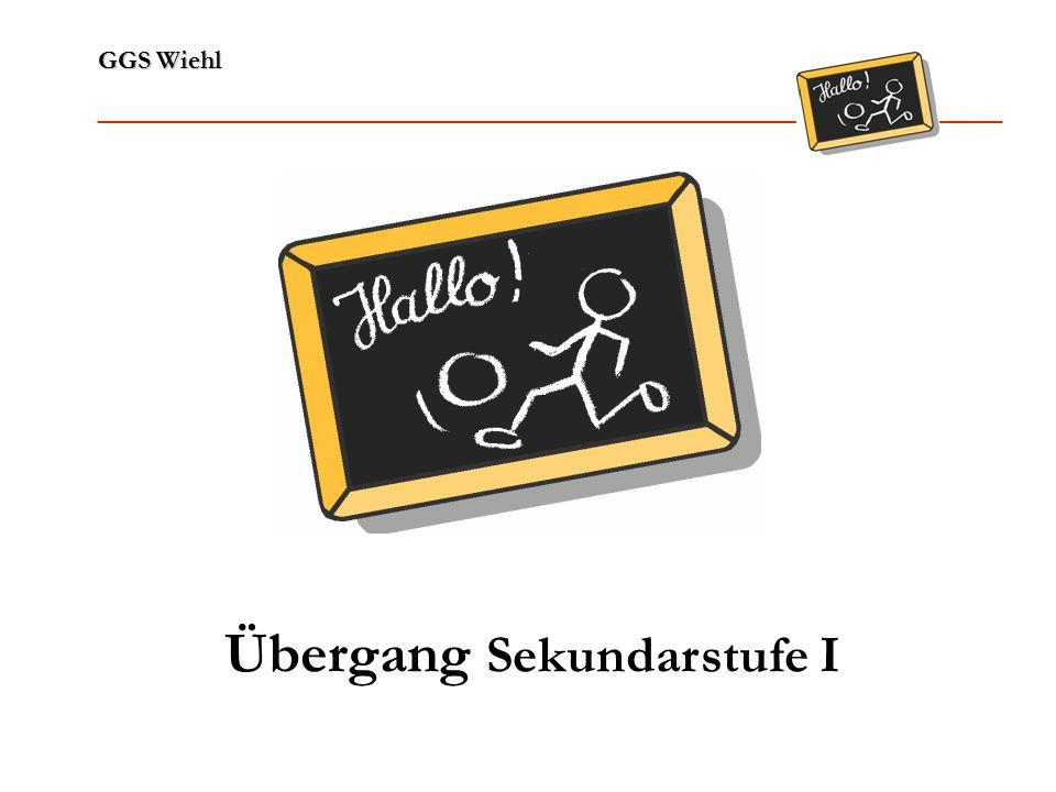 GGS Wiehl ______________________________________________________________ Sekundarschule Ausbildung später Abitur in GY/GE Schule für alle Schüler/innen Ganztagsbetrieb an min.