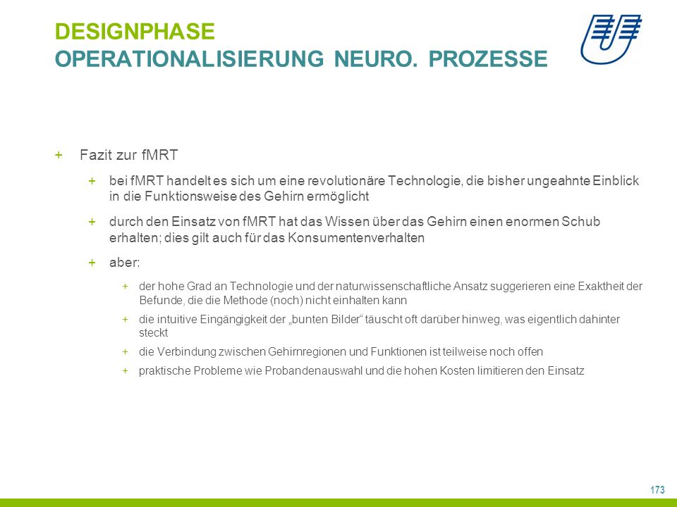 173 DESIGNPHASE OPERATIONALISIERUNG NEURO.