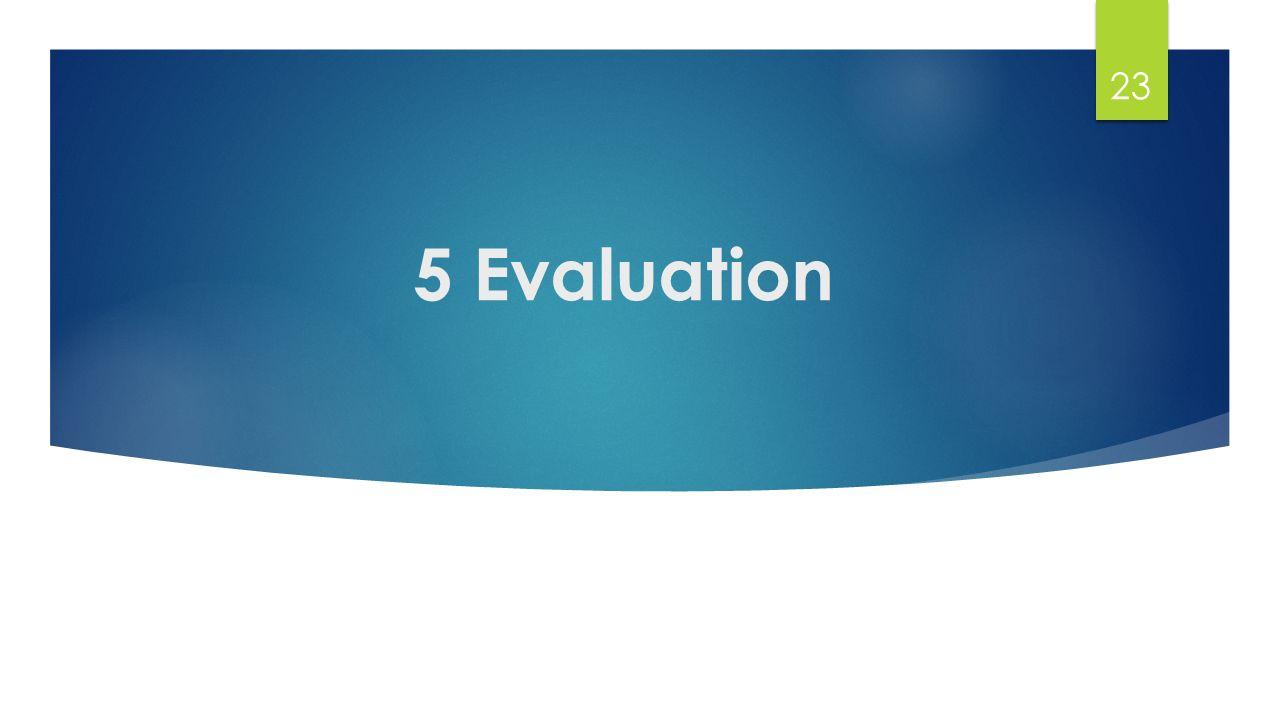 5 Evaluation 23