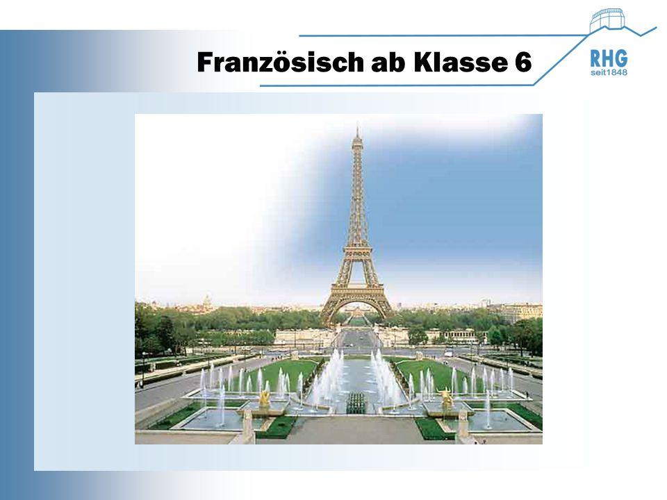 Französisch ab Klasse 6