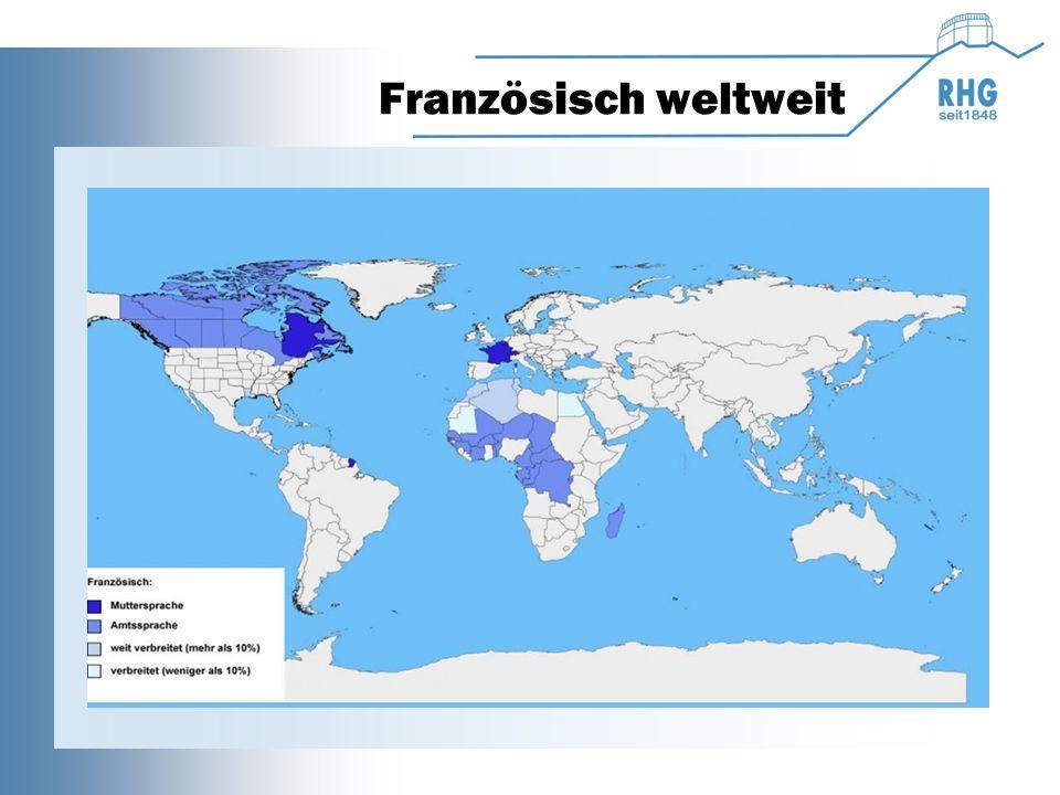 Französisch weltweit