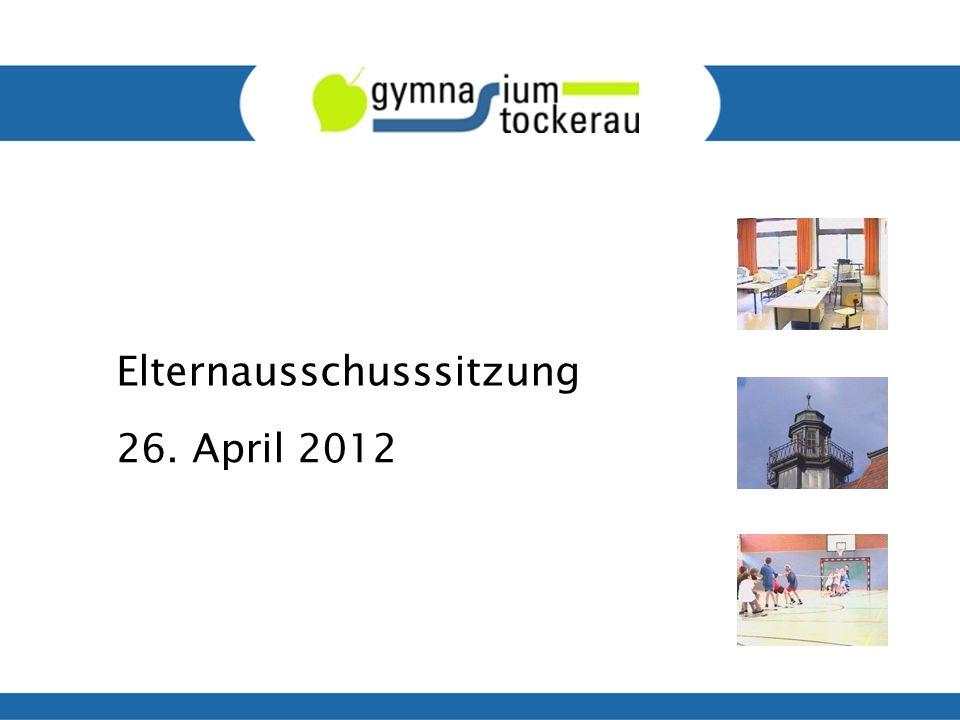 Elternausschusssitzung 26. April 2012