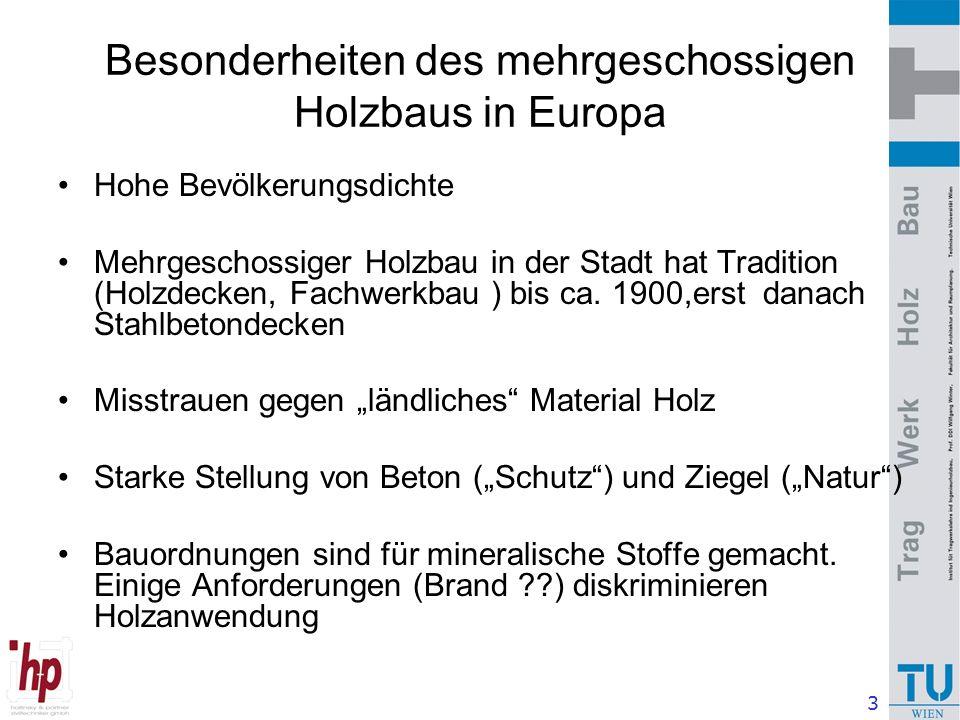 14 Bauproduktion in Österreich: 15 % des BIP, ca.3.700 €/ Kopf Wohnbau : Einfamilienhäuser ca.