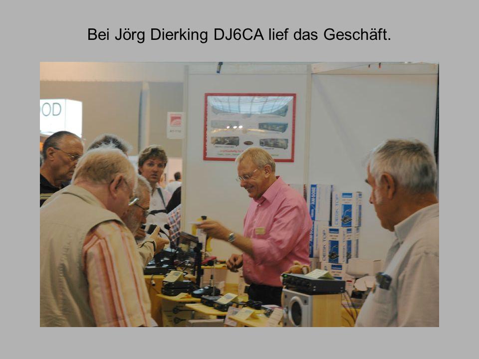 Bei Jörg Dierking DJ6CA lief das Geschäft.