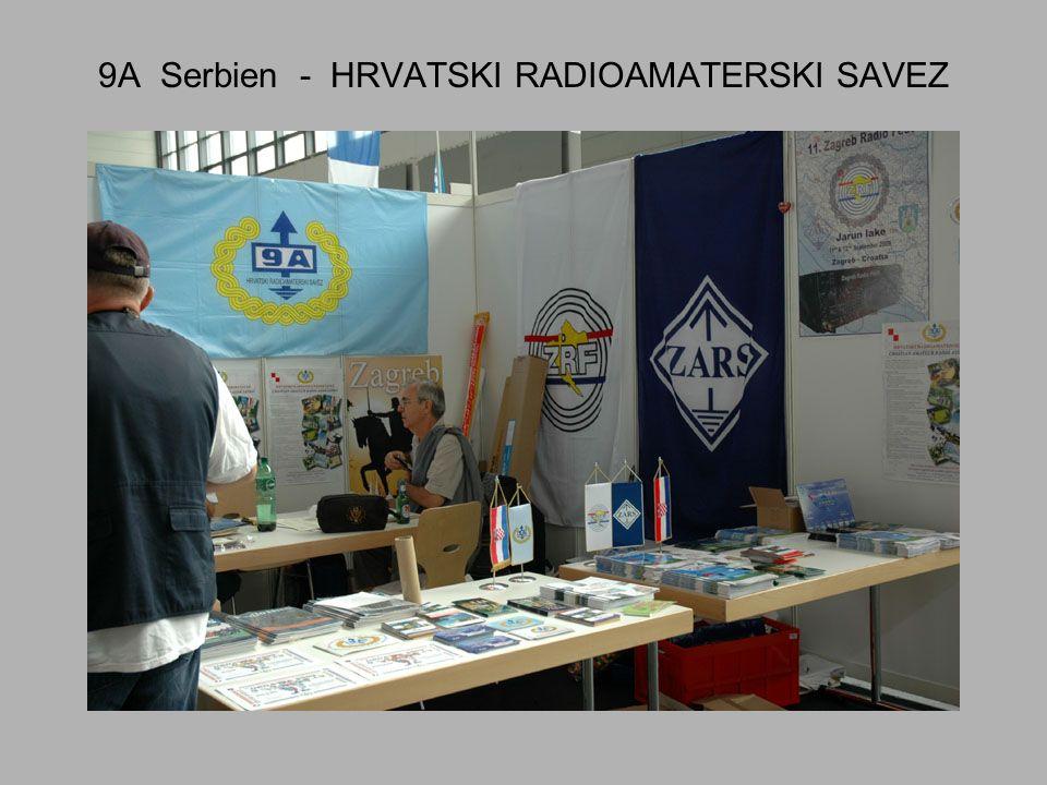 9A Serbien - HRVATSKI RADIOAMATERSKI SAVEZ